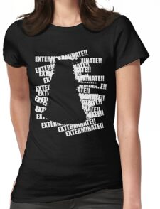 Exterminate V.3 Womens Fitted T-Shirt