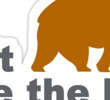 Dont poke the bear funny geek funny nerd Sticker