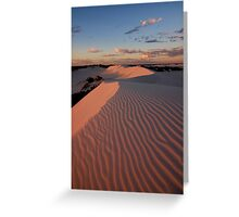Martian Sunset Greeting Card