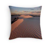 Martian Sunset Throw Pillow