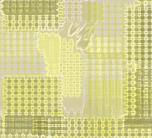 Yellow Pattern Number One by Betty Mackey