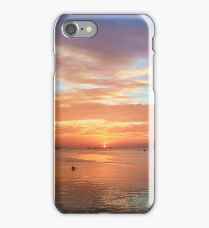 Manila Bay Sunset by iPhoneographer Matteo Genota iPhone Case/Skin