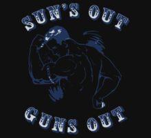 Sun's Out Guns Out Kids Tee