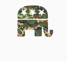 Camouflage Republican Elephant Unisex T-Shirt