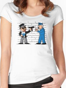 Heisenberg Monopoly Women's Fitted Scoop T-Shirt
