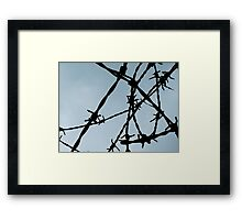 Metal Mess Framed Print