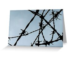 Metal Mess Greeting Card