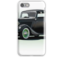 1934 Ford 'Fifties Style' Hot Rod Coupe iPhone Case/Skin
