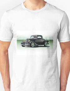 1934 Ford 'Fifties Style' Hot Rod Coupe Unisex T-Shirt