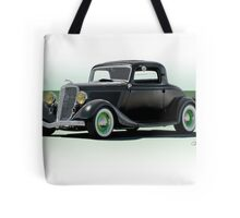 1934 Ford 'Fifties Style' Hot Rod Coupe Tote Bag