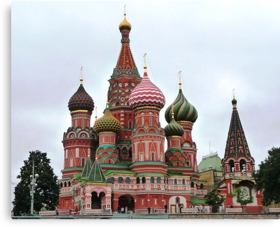St Basil's Cathedral by Braedene