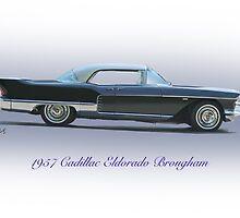 1957 Cadillac Eldorado Brougham by DaveKoontz