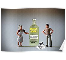 Now what?!?!? …. You said I had a drinking problem and you wanted me to address it!  I did. Poster