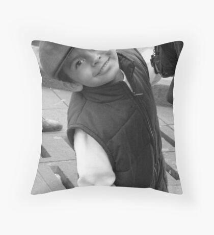 Quiteñito B&W Throw Pillow