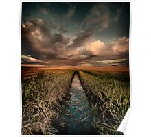 Irrigation ditch Poster