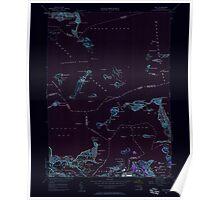 Massachusetts  USGS Historical Topo Map MA Hull 350217 1949 24000 Inverted Poster