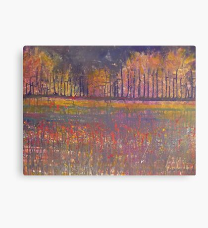 By the lakeside Canvas Print