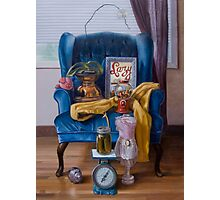 Blue Chair Photographic Print