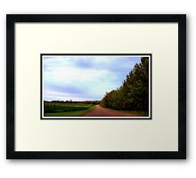 Where Peace and Quiet Dwell Framed Print