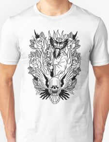 In Devil We Trust Lines Unisex T-Shirt