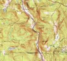 Massachusetts  USGS Historical Topo Map MA Tolland 352253 1948 31680 Sticker