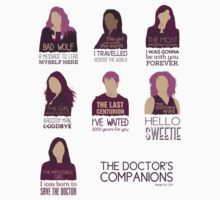 Doctor Who | Companions T-Shirt