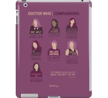 Doctor Who | Companions iPad Case/Skin