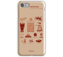 Doctor Who | Aliens & Villains iPhone Case/Skin