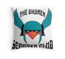 Birdmen Scooter Club Throw Pillow