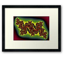 Dragons Reach Framed Print