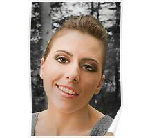 Katlyn's smile Poster
