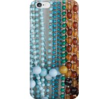 colored necklace stones iPhone Case/Skin