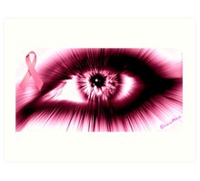Breast Cancer Awareness Month Art Print
