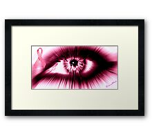 Breast Cancer Awareness Month Framed Print