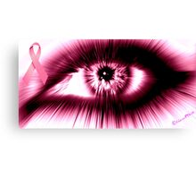 Breast Cancer Awareness Month Canvas Print