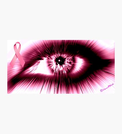 Breast Cancer Awareness Month Photographic Print