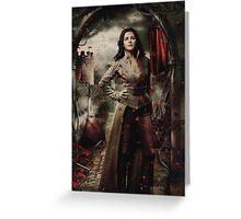 Camelot - Snow Greeting Card