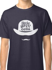 Little grey cells geek funny nerd Classic T-Shirt
