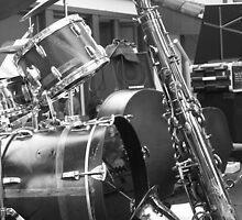 Drums & Sax. 2010 by Igor Pozdnyakov