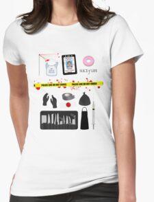 Dexter Morgan VS the Dark Passenger Womens Fitted T-Shirt