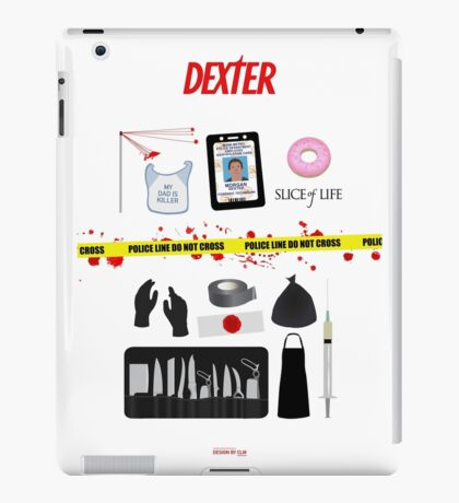 Dexter Morgan VS the Dark Passenger iPad Case/Skin
