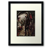 Camelot Set - Captain Hook Framed Print
