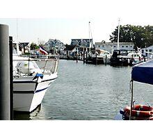 Harbour reportage Photographic Print