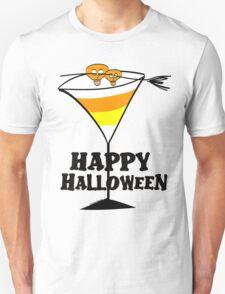 Halloween Candy Corn Martini T-Shirt