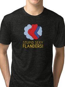 Stupid Sexy Flanders! Tri-blend T-Shirt