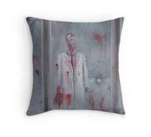 Doc Zombie Throw Pillow