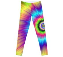 Color Explosion Tie-Dyed Leggings