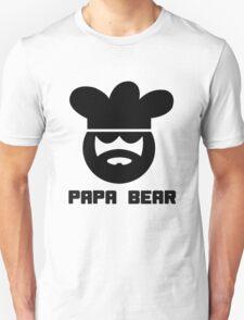 Papa bear chef cook for men geek funny nerd Unisex T-Shirt