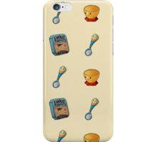 Broken Age pattern - big   iPhone Case/Skin