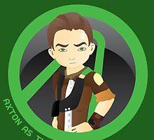 Axton as the Commando  by FaustMidas